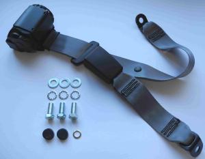 Automatik-Sicherheitsgurt schwarz für Mercedes W 113 Pagode Nachrüstung vorn